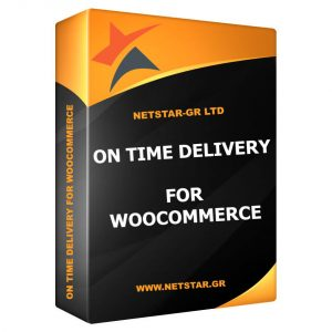 WooCommerce On Time Delivery